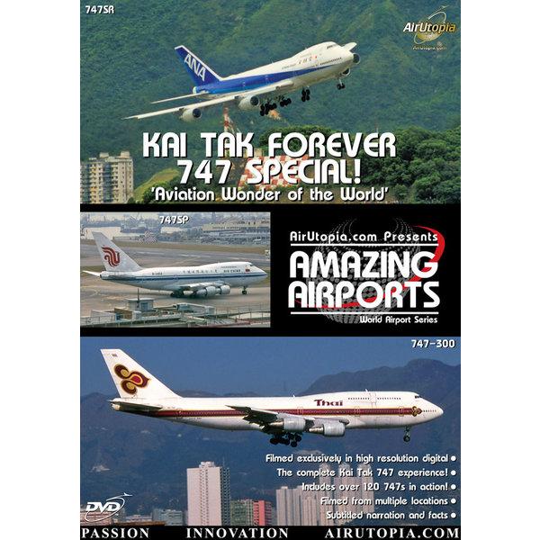 Air Utopia DVD Kai Tak Forever: 747 Special #44