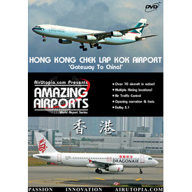 Air Utopia DVD Hong Kong: Chek Lap Kok: Gateway to China #9