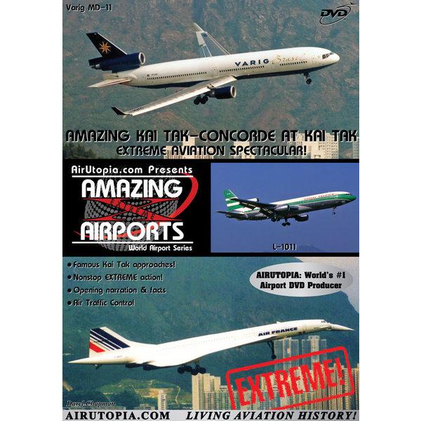 Air Utopia DVD Hong Kong: Kai Tak: Concorde #10