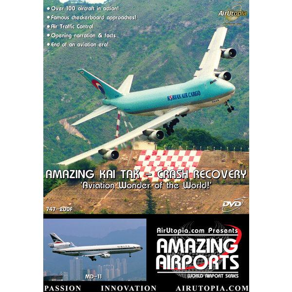 Air Utopia DVD Hong Kong Kai Tak: Crash Recovery 1994 #11