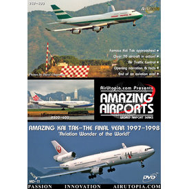 Air Utopia DVD Hong Kong Kai Tak Final Year 1997 #15