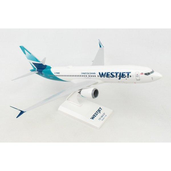SkyMarks B737 MAX 8 WestJet 2018 Livery C-FNWD 1:130
