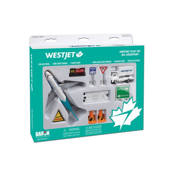 Daron WWT Westjet Airport Play Set New Livery 2018