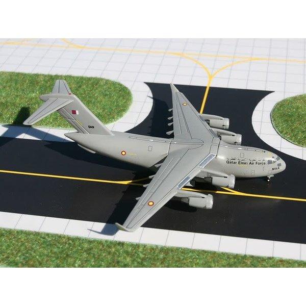 Gemini Jets C17A QATAR Emiri Air Force camoulfage grey 1:400