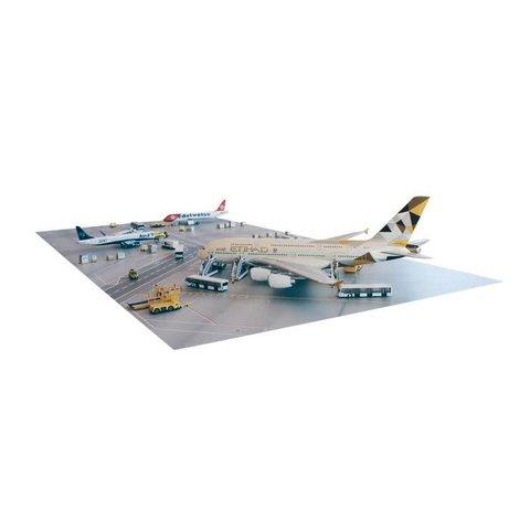 Apron Plate on Hardboard 50 cm x 50 cm 1:200
