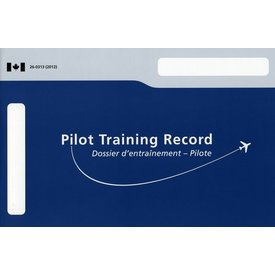 Pilot Training Record softcover