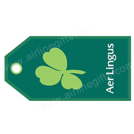 Luggage Tag Aer Lingus Snn Green