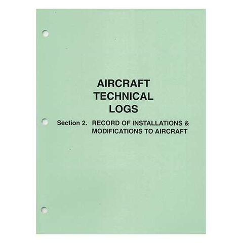 Aircraft Technical Log Section 2  Installations