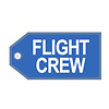 Luggage Tag Crew KLM Blue