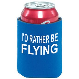 I'd Rather Be Flying Can Holder