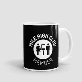Airportag Mug Mile High Club11 oz