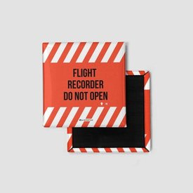 Airportag Flight Recorder Magnet