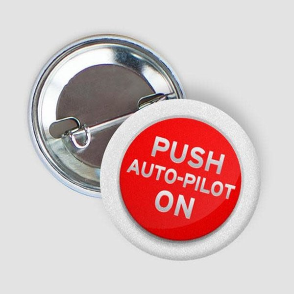 Airportag Auto Pilot Button