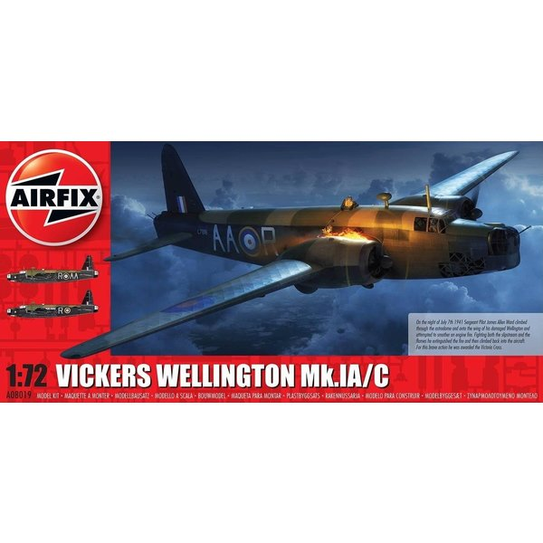 Airfix Wellington Mk.1A/C 1:72 Scale Kit, New Tooling !!!