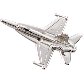Johnson's F/A-18 HORNET (3-D CAST) Silver