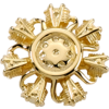 RADIAL ENGINE (3-D) Gold