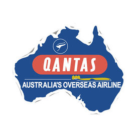 Patch Qantas Retro Iron-on