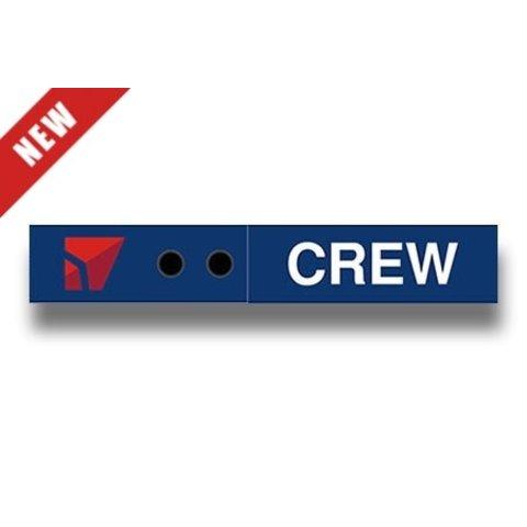 Luggage Snap Tag Delta Crew