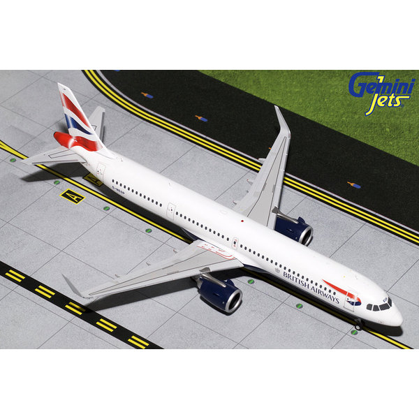 Gemini Jets A321neo British Airways Union Jack G-NEOP 1:200