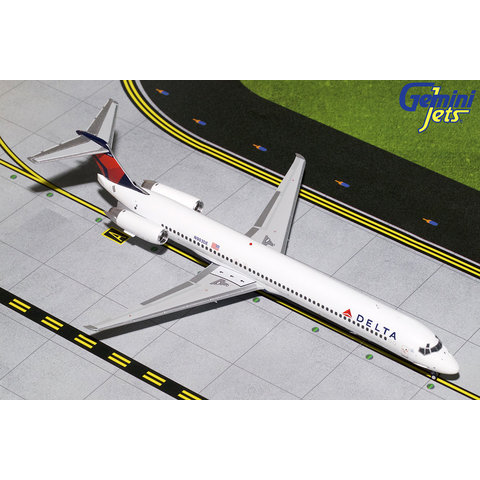 MD88 Delta 2007 livery N903DE 1:200 with stand