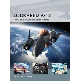 Osprey Publications Lockheed A12: CIA's Blackbird: AVG#12 softcover