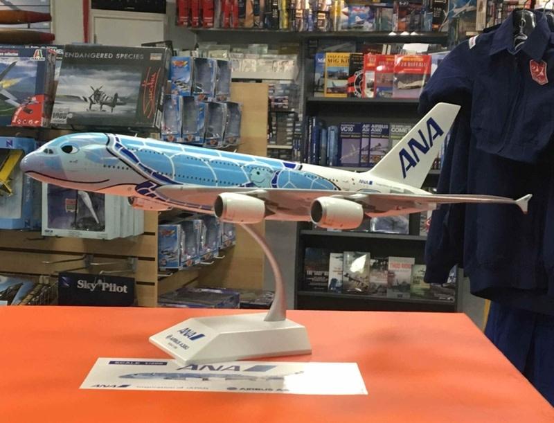 A380-800 Sea Turtle Lani Blue JA381A 1:200 by JC Wings
