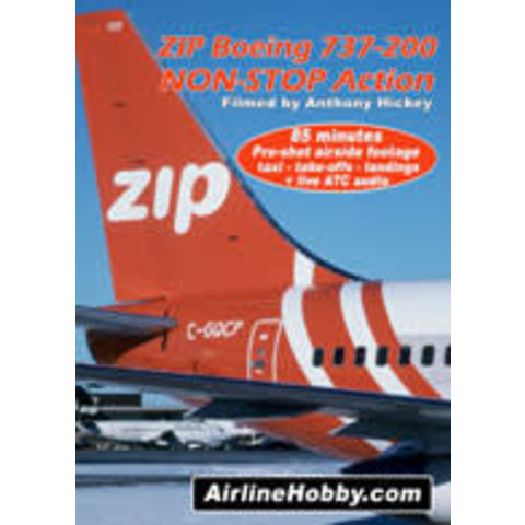 ZIP BOEING 737-200 DVD TENBY*NSI*