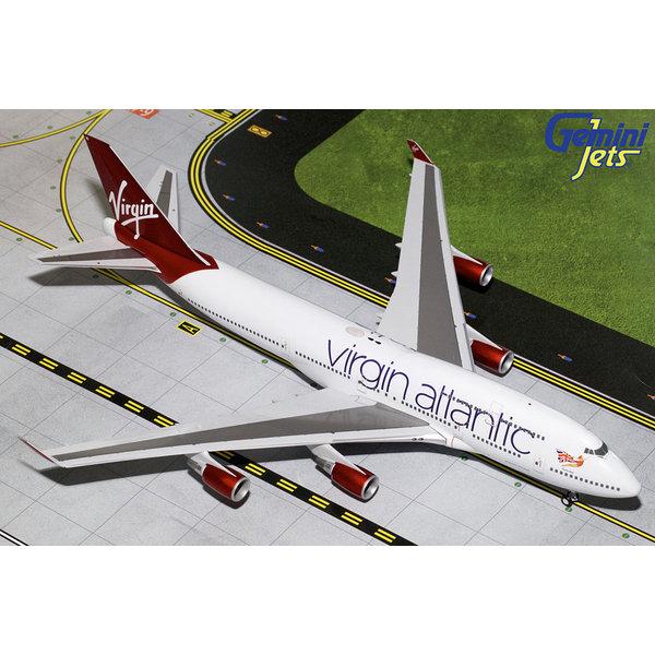 Gemini Jets B747-400 Virgin Atlantic Tinker Belle G-VBIG 1:200