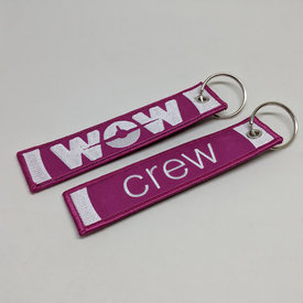 Key Chain WOW CREW