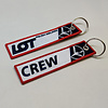 Key Chain LOT Polish Airlines CREW