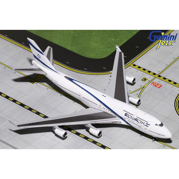 Gemini Jets B747-400 El Al Goodbye Flight 4X-ELB 1:400
