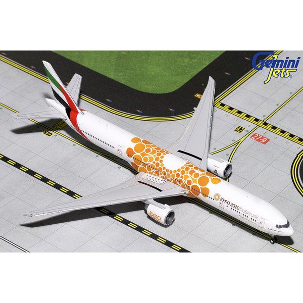 Gemini Jets B777-300ER Emirates EXPO 2020 Orange A6-EPO 1:400