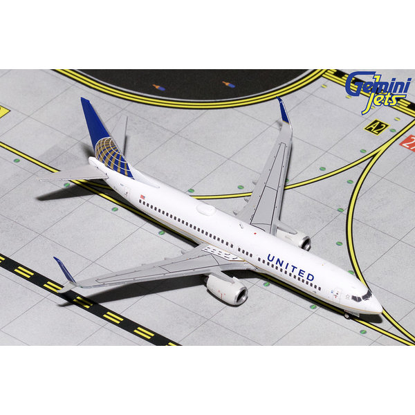 Gemini Jets B737-800S United Airlines 2010 livery N14237 1:400