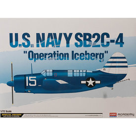 Academy SB2C-4 HELLDIVER USN  Operation Iceberg 1:72 Scale Kit