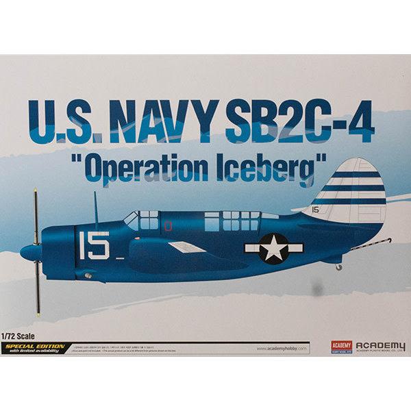 Academy SB2C-4 HELLDIVER USN  Operation Iceberg 1:72 Scale Kit