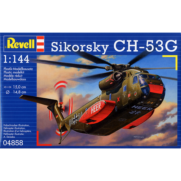 CH-53G Transport Helicopter 1:144 Scale Kit