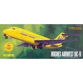 VALON ATLANTIS DC9 HUGHES/TWA 1:72 Plastic Kit