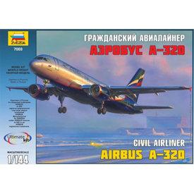 Zvesda A320 AEROFLOT NC03 1:144