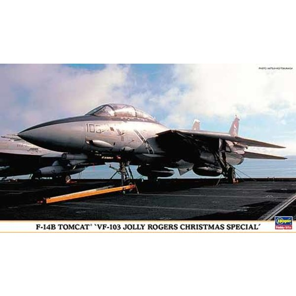 Hasegawa F14B VF103 JOLLY ROGERS 1:72 SCALE KIT (XMAS SPECIAL)