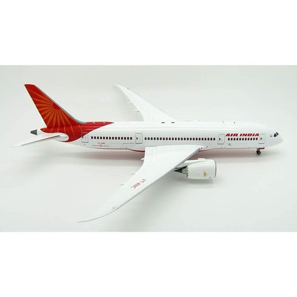 InFlight B787-8 Dreamliner Air India VT-ANC 1:200 with stand