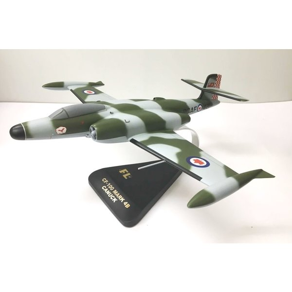 Avro CF100 Canuck Mark 4B 440 Squadron 1CAD RCAF NATO Europe mahogany with stand