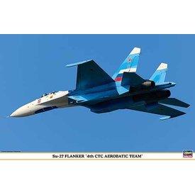 Hasegawa SU27 FLANKER RUSSIAN 4 CTC TEAM 1:72 scale kit