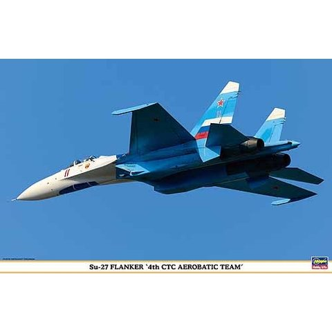 SU27 FLANKER RUSSIAN 4 CTC TEAM 1:72 scale kit