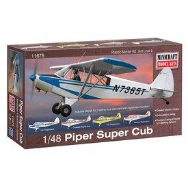 Minicraft Model Kits PIPER SUPER CUB 1:48 Scale Plastic Kit