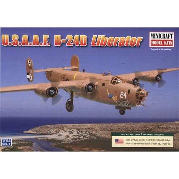 B24D LIBERATOR USAAF 1:144 Scale Kit