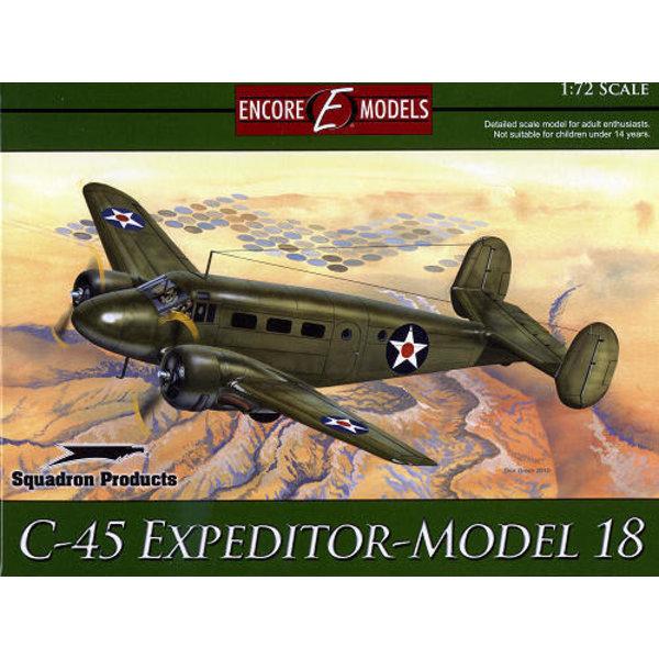 Squadron Encore C45 EXPEDITOR Model 18 1:72