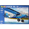 Piper PA-18 Cub with Bushwheels 1:32 scale kit O/P