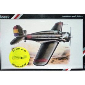 Special Hobby Lockheed UC-85 ORION in US service WWII 1:72*O/P*