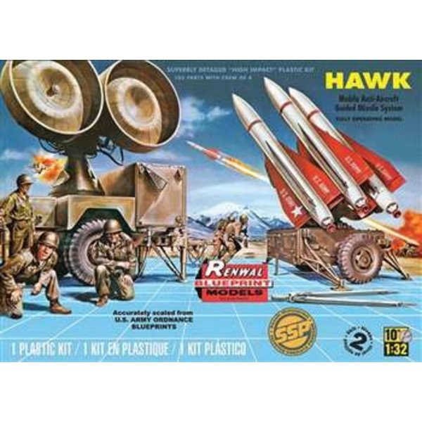 Revell HAWK MISSILE BATTERY US ARMY 1:32 KIT