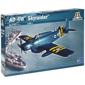 AD-4W SKYRAIDER  1/48 SCALE KIT